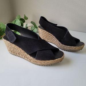 Pedro Garcia Federica espadrille wedge sandals